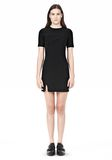 T by ALEXANDER WANG TECH SUITING FITTED DRESS Short Dress Adult 8_n_f