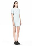 T by ALEXANDER WANG TECH SUITING FITTED DRESS Short Dress Adult 8_n_e