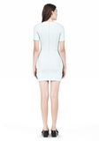 T by ALEXANDER WANG TECH SUITING FITTED DRESS Short Dress Adult 8_n_r