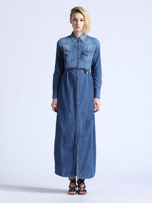 DIESEL DE-VIVY-LONG Dresses D f