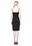 ALEXANDER WANG BUSTIER DRESS WITH CENTER MESH PANEL Short Dress Adult 8_n_r