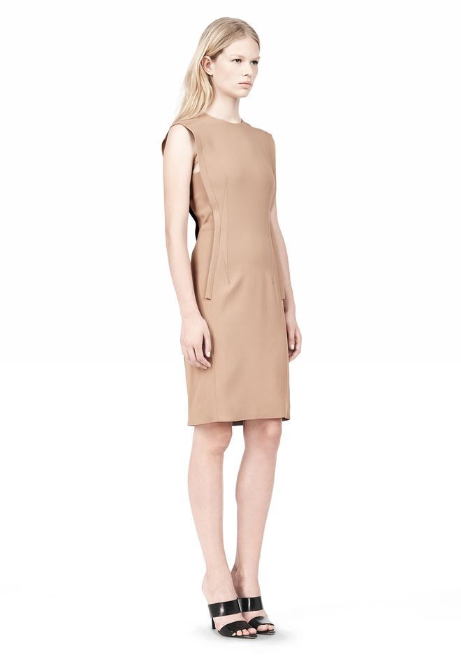 ALEXANDER WANG EXPOSED DART SHEATH DRESS Short Dress Adult 12_n_e