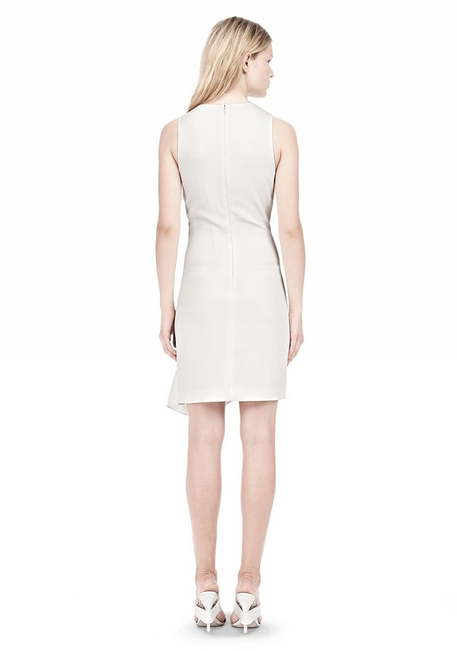 ALEXANDER WANG CASCADE FRONT SLEEVELESS DRESS Short Dress Adult 12_n_r