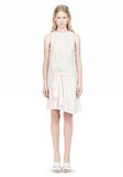 ALEXANDER WANG CASCADE FRONT SLEEVELESS DRESS Short Dress Adult 8_n_f
