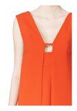 ALEXANDER WANG EXCLUSIVE SLEEVELESS DRESS WITH BOX PLEATS Short Dress Adult 8_n_a