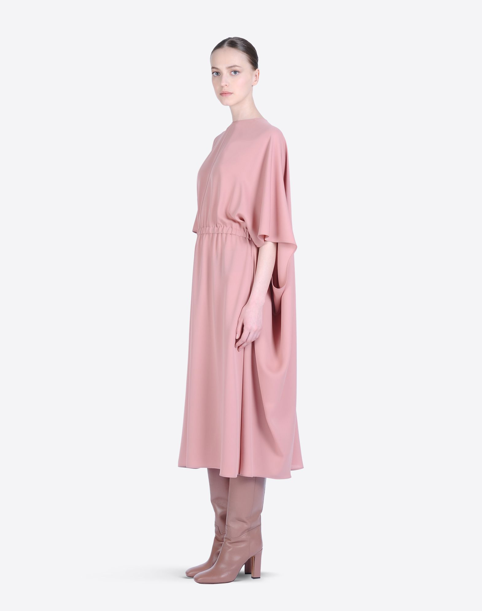 VALENTINO Crêpe Solid color Round collar Zip Lined interior Long sleeves  34421194bo