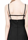 ALEXANDER WANG BOAT NECK DRESS WITH BRA STRAP DETAIL Short Dress Adult 8_n_a