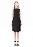 ALEXANDER WANG BOAT NECK DRESS WITH BRA STRAP DETAIL Short Dress Adult 8_n_f