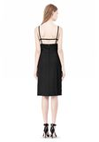 ALEXANDER WANG BOAT NECK DRESS WITH BRA STRAP DETAIL Short Dress Adult 8_n_r