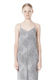 T by ALEXANDER WANG GEORGETTE SLIP DRESS 3/4 length dress Adult 8_n_d