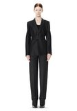ALEXANDER WANG PINSTRIPE ROBE BLAZER WITH BELT JACKETS AND OUTERWEAR  Adult 8_n_f