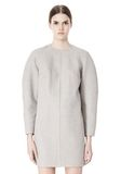ALEXANDER WANG SWEATSHIRT DRESS WITH SHIRT TAIL HEM 3/4 length dress Adult 8_n_d