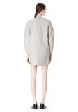 ALEXANDER WANG SWEATSHIRT DRESS WITH SHIRT TAIL HEM 3/4 length dress Adult 8_n_r