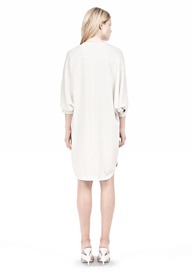 ALEXANDER WANG DOLMAN SLEEVE SHIRT DRESS Short Dress Adult 12_n_r