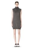 ALEXANDER WANG TUNIC WITH ZIP BANDANA  KNIT DRESS Adult 8_n_f