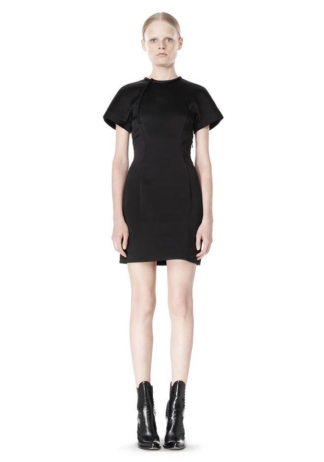 ALEXANDER WANG EXCLUSIVE SCULPTED T-SHIRT DRESS Short Dress Adult 12_n_f