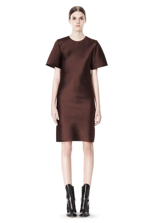 ALEXANDER WANG EXCLUSIVE T-SHIRT DRESS WITH FRINGE Short Dress Adult 12_n_f