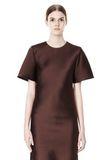 ALEXANDER WANG EXCLUSIVE T-SHIRT DRESS WITH FRINGE Short Dress Adult 8_n_a