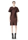 ALEXANDER WANG EXCLUSIVE T-SHIRT DRESS WITH FRINGE Short Dress Adult 8_n_f
