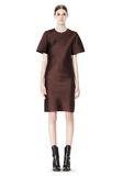 ALEXANDER WANG EXCLUSIVE T-SHIRT DRESS WITH FRINGE Short Dress Adult 8_n_f
