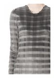 ALEXANDER WANG PLEATED DRESS WITH RAW EDGE Short Dress Adult 8_n_a
