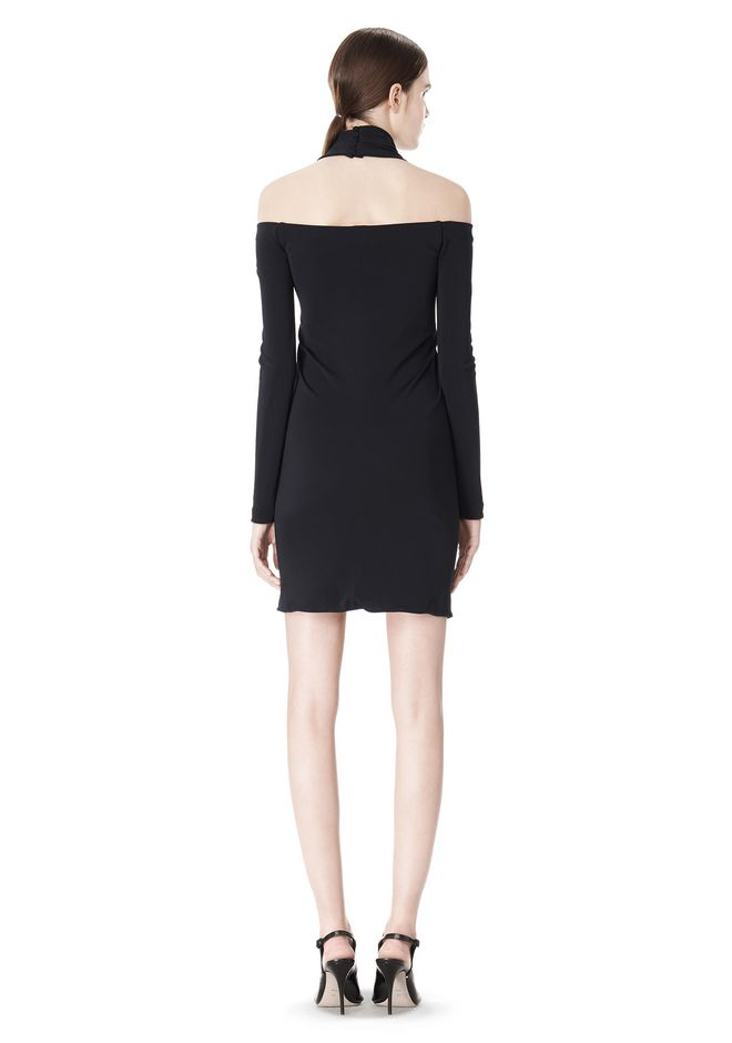 ALEXANDER WANG LONG SLEEVE SHOUDLERLESS DRESS  Short Dress Adult 12_n_r