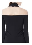 ALEXANDER WANG LONG SLEEVE SHOUDLERLESS DRESS  Short Dress Adult 8_n_a