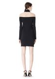 ALEXANDER WANG LONG SLEEVE SHOUDLERLESS DRESS  Short Dress Adult 8_n_r