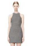 T by ALEXANDER WANG MESH BONDED NEOPRENE SLEEVELESS DRESS Short Dress Adult 8_n_d