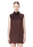 ALEXANDER WANG SHORT SLEEVE TUNIC DRESS WITH SHIRT COLLAR Short Dress Adult 8_n_d