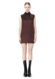 ALEXANDER WANG SHORT SLEEVE TUNIC DRESS WITH SHIRT COLLAR Short Dress Adult 8_n_f