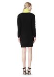 ALEXANDER WANG SPLITTABLE TURTLENECK DRESS KNIT DRESS Adult 8_n_r