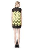 ALEXANDER WANG V-NECK DRESS WITH SHOE LACE EMBROIDERY Short Dress Adult 8_n_r
