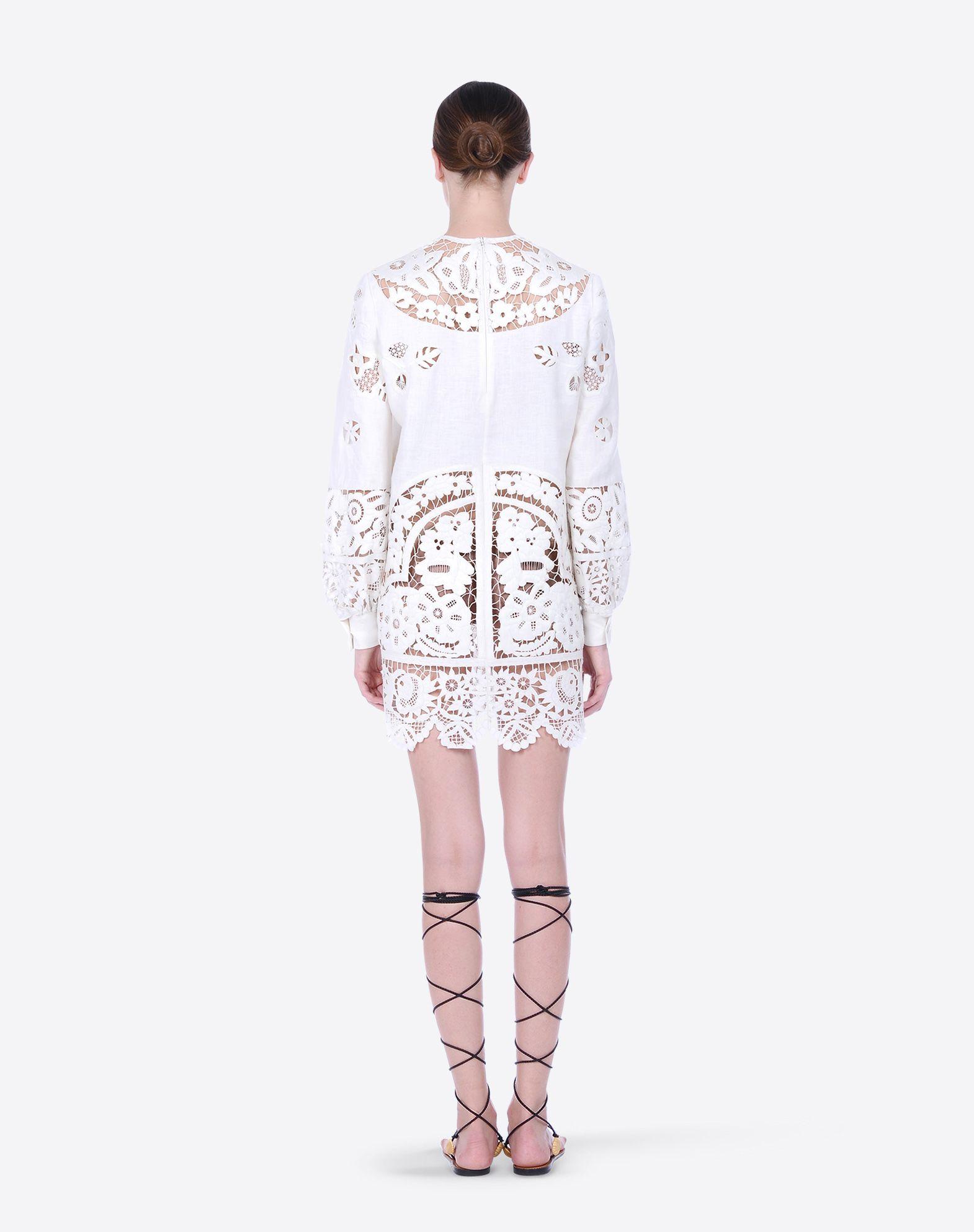 Valentino Linen Dress