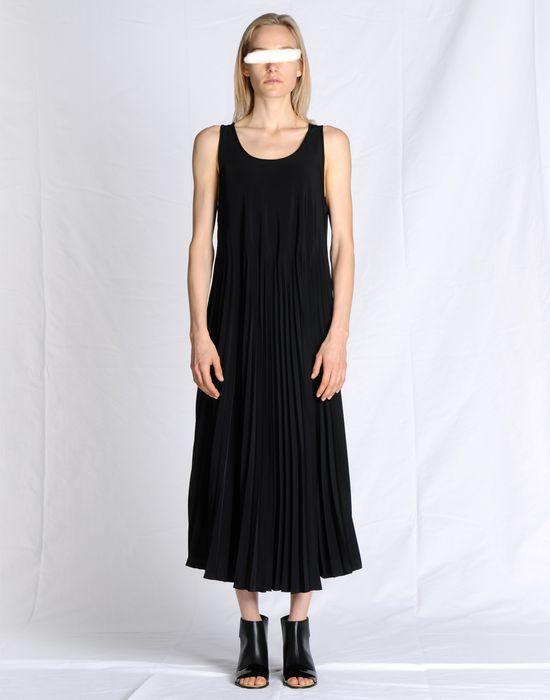 Maison Margiela Full Length Pleated Dress Women Online