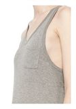 T by ALEXANDER WANG CLASSIC TANK DRESS WITH CHEST POCKET  Long dress Adult 8_n_d