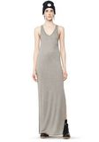 T by ALEXANDER WANG CLASSIC TANK DRESS WITH CHEST POCKET  Long dress Adult 8_n_f