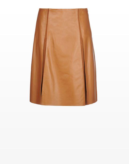 Leather skirt Women - Dresses and skirts Women on Trussardi.com ...