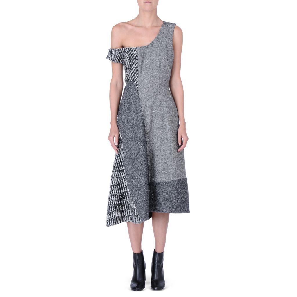 Tweed Tailoring Jackie Dress - STELLA MCCARTNEY