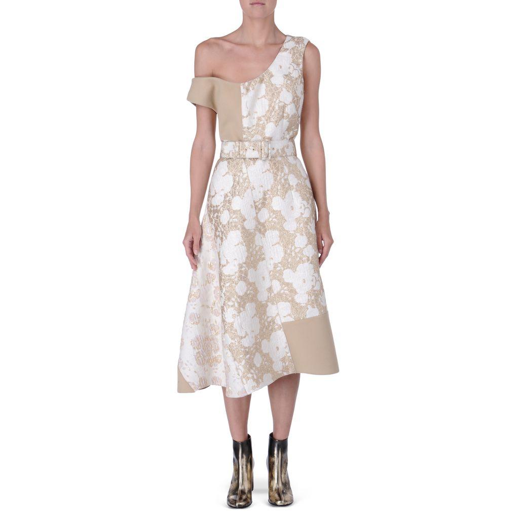 Metallic brocade Jackie dress - STELLA MCCARTNEY