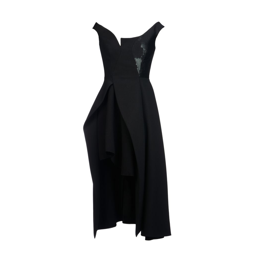 Wool tailoring Riley dress - STELLA MCCARTNEY