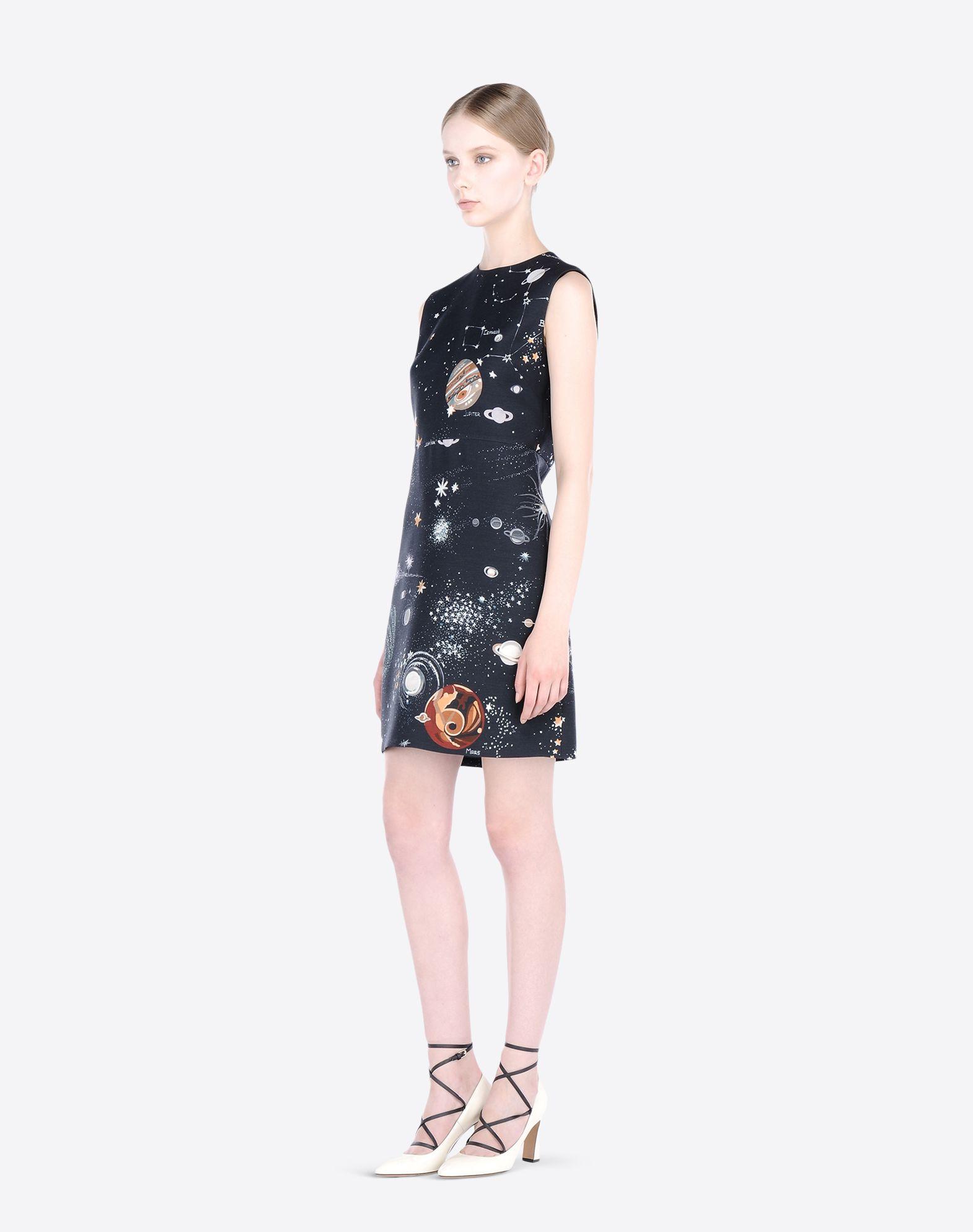 VALENTINO JB3VA3Y520E 598 Printed dress D a