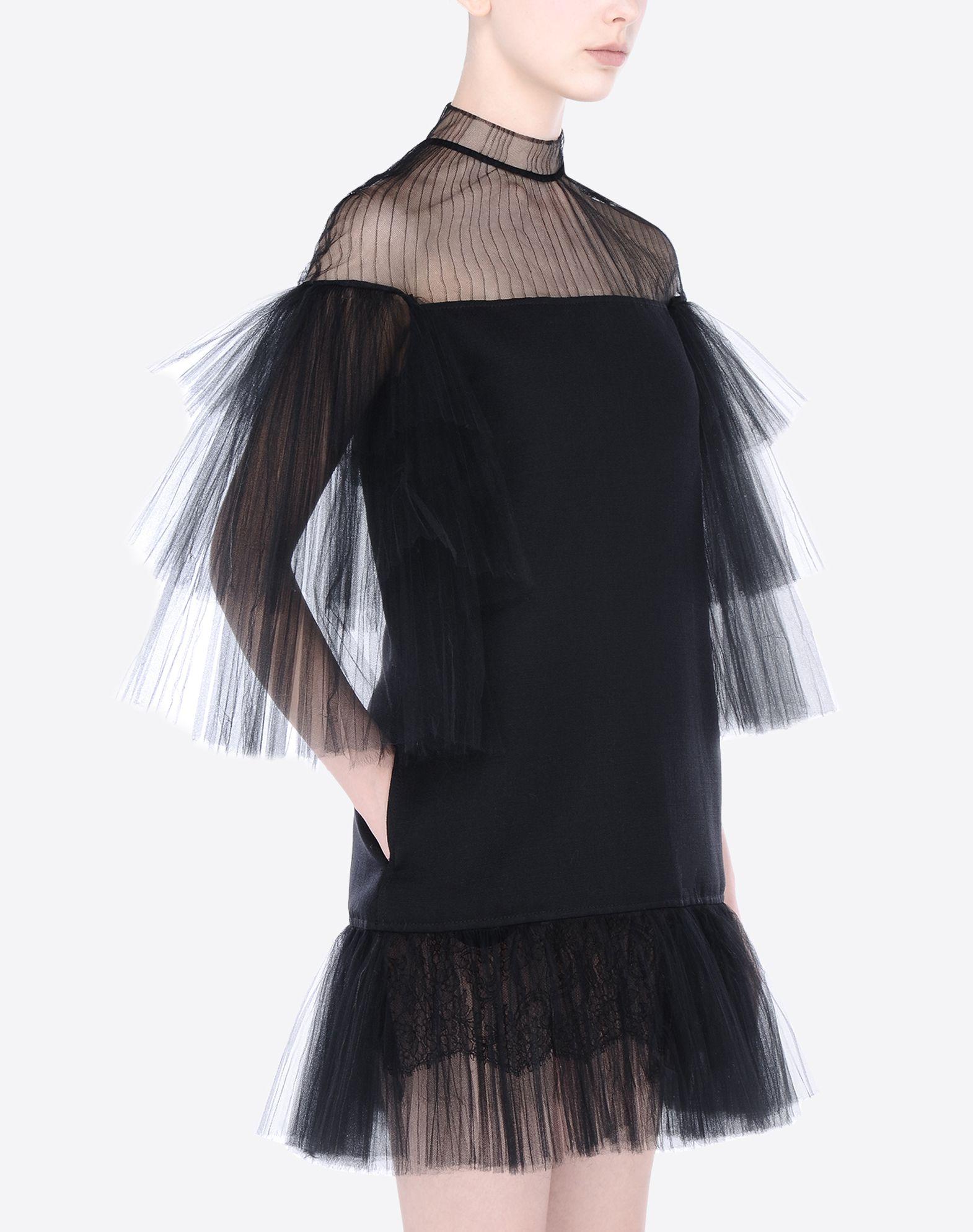 VALENTINO Short plissé dress 34561577cp