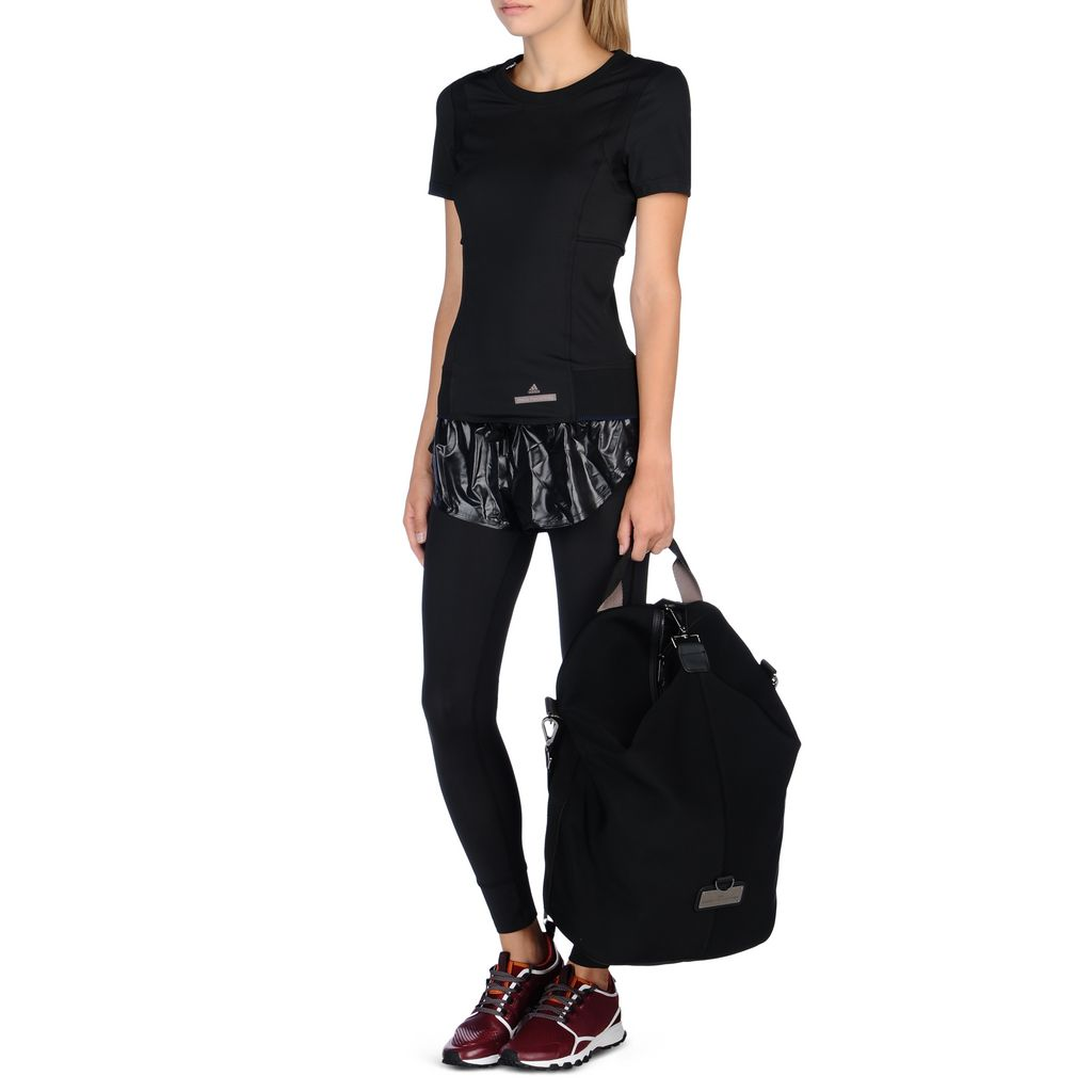 black run performance t shirt adidas by stella mccartney. Black Bedroom Furniture Sets. Home Design Ideas