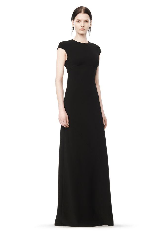 MAXI DRESS WITH EXPOSED BACK - Long Dress - Alexander Wang ...