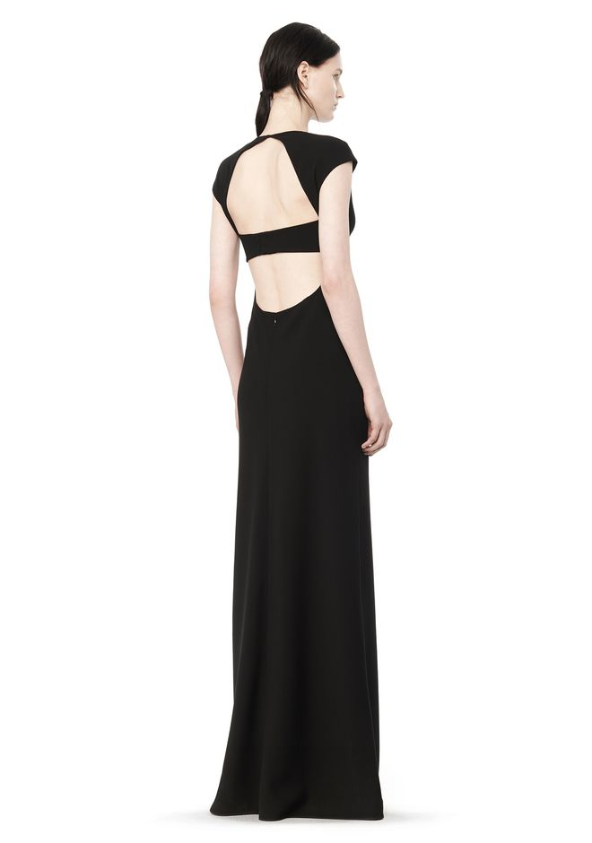 MAXI DRESS WITH EXPOSED BACK | Long Dress | Alexander Wang ...