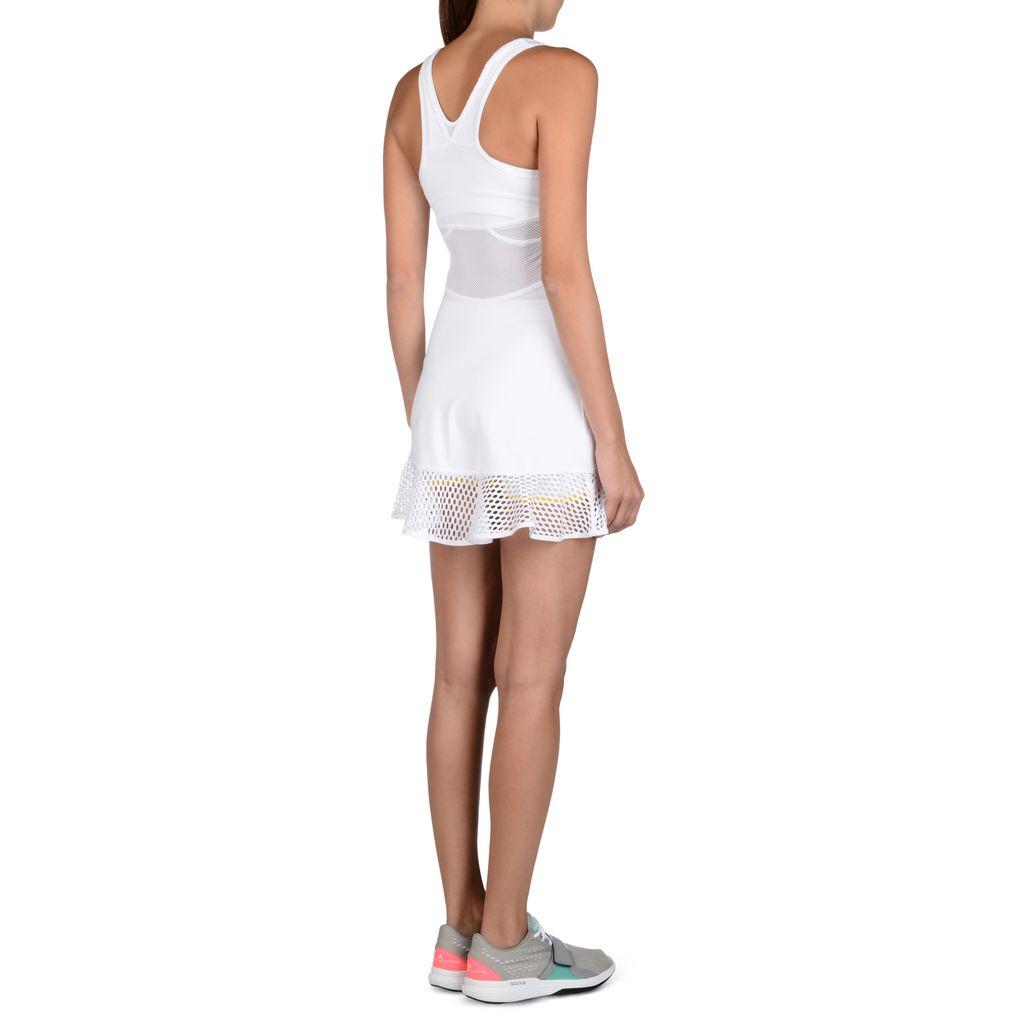 Recogiendo hojas Alaska Exceder  Stella Mccartney Adidas White Tennis Dress   IUCN Water
