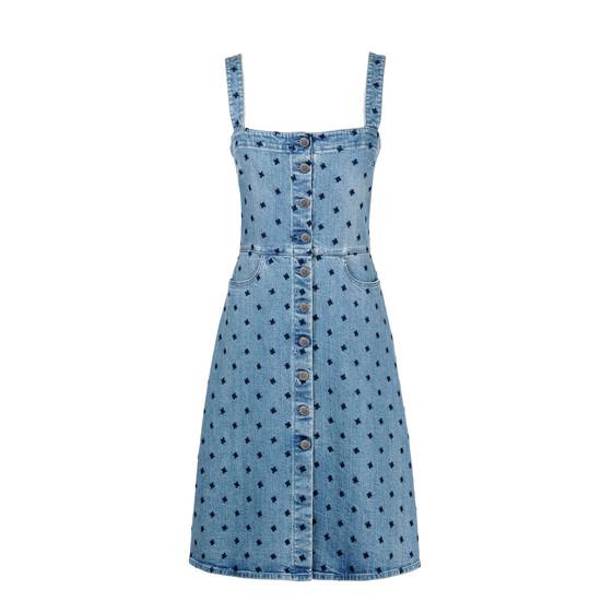 Classic blue Linda Dress