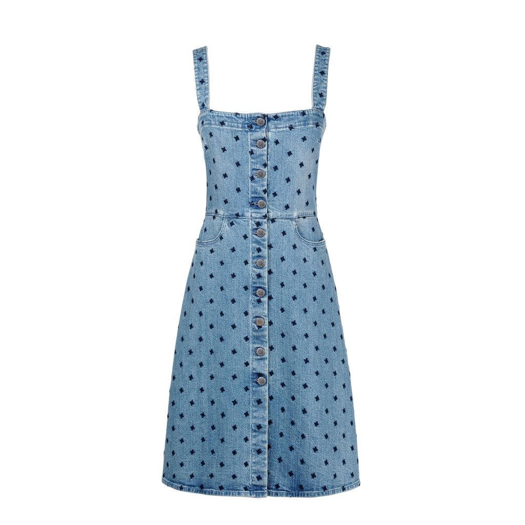 Classic blue Linda Dress - STELLA MCCARTNEY