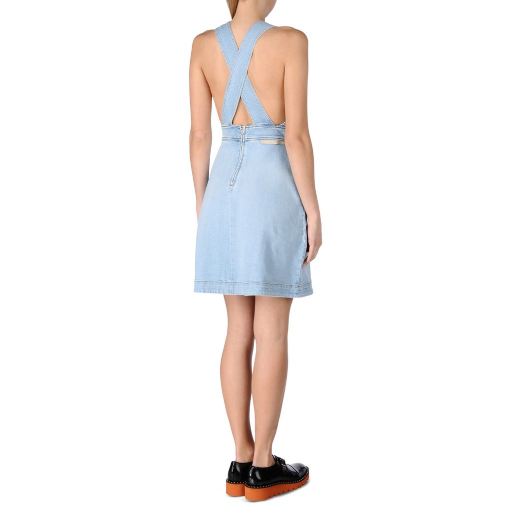 Denim Anne Dress - STELLA MCCARTNEY